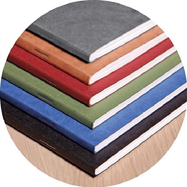 Cuaderno A6 Age - 9 x 14 cm, Hojas Blancas, Color Gris