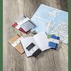Clairefontaine Age A5 Roadbook Bag, Cuadros, 128 páginas, Azul
