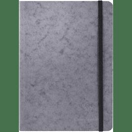 Clairefontaine Age A5 Roadbook Bag, Cuadros, 128 páginas, Gris
