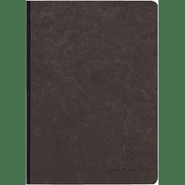 Cuaderno Clairefontaine 'Age Bag', A5, Dot, 192 páginas - Negro