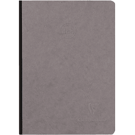 Cuaderno Clairefontaine 'Age Bag', A5, Dot, 192 páginas - Gris