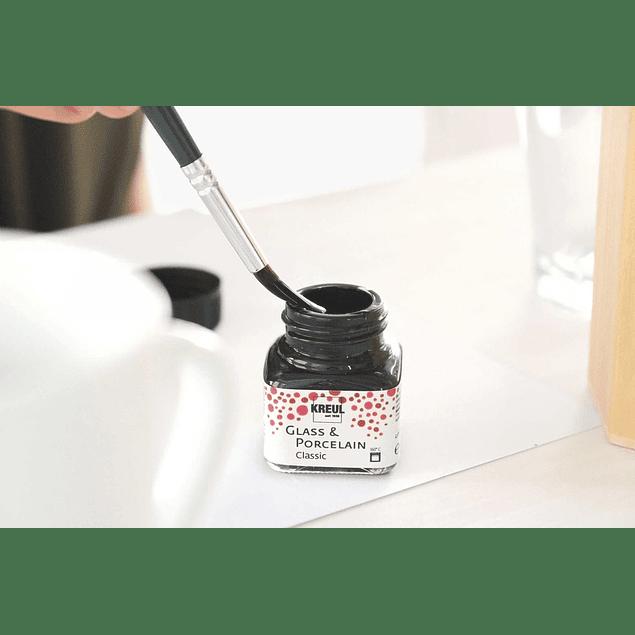 Pintura de Vidrio y Porcelana - Frasco 20 ml (Colores)