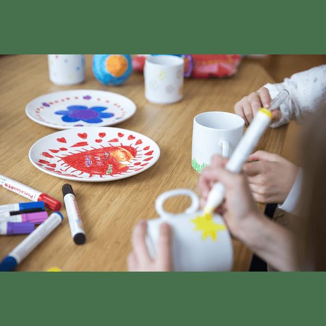 Marcador KREUL Porcelana EasyPen (15 tonos)