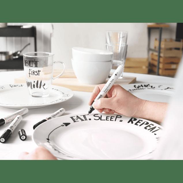 Marcadores KREUL para Vidrio y Porcelana Classic - (24 tonos)