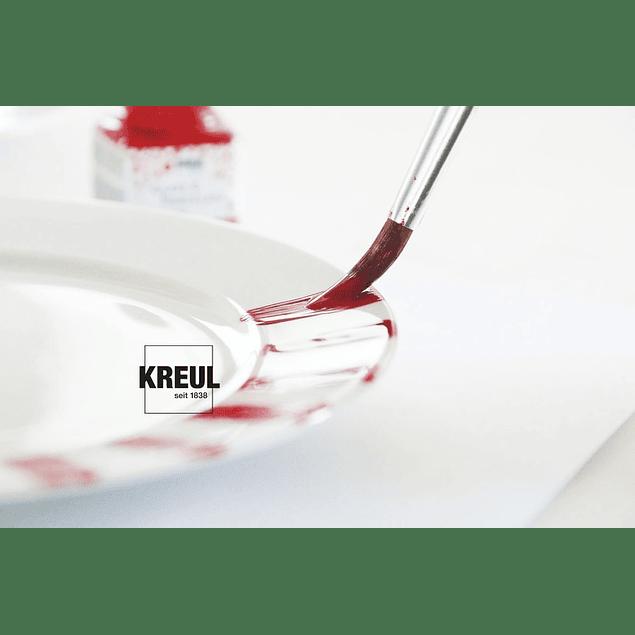 KREUL Glass & Porcelain Classic, 6 frascos de 20 ml cada uno