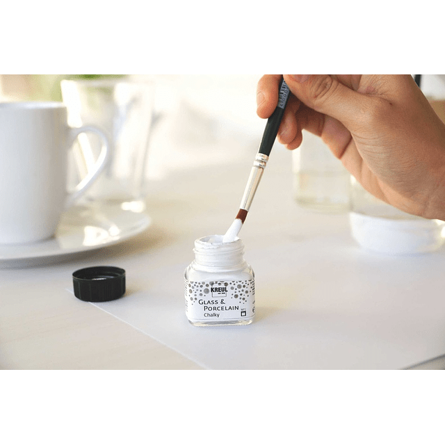 Pintura Vidrio y Porcelana efecto Tiza - 20 ml (14 tonos)