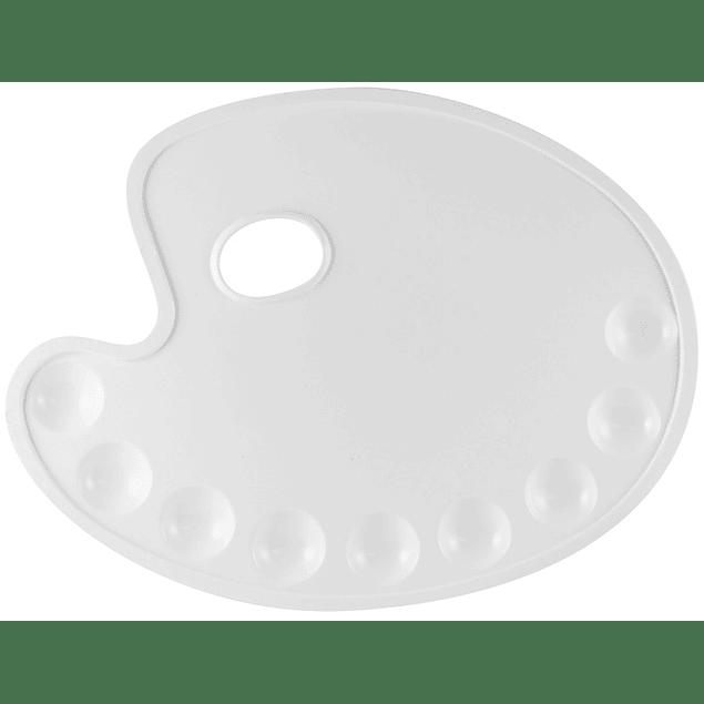 KREUL Paletas de plástico, ovales
