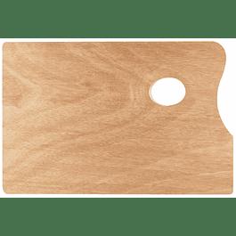 SOLO GOYA Paleta de madera - rectangular