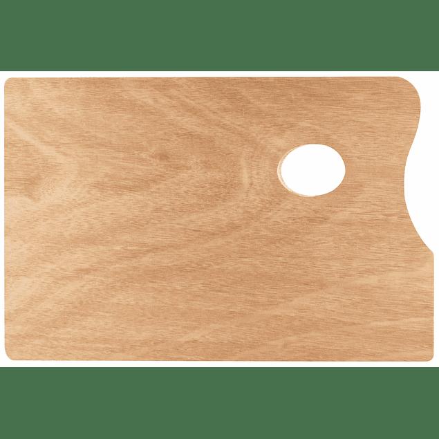 SOLO GOYA Paleta de madera,  rectangular