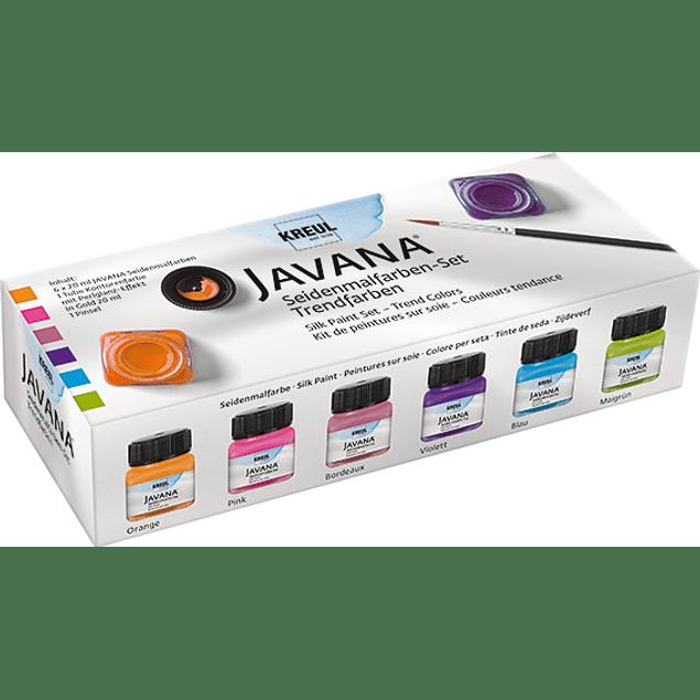 Pinturas para tela Javana -