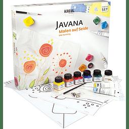 """Set Pintura Textil y Seda Javana - """"Set Inicio"""""""