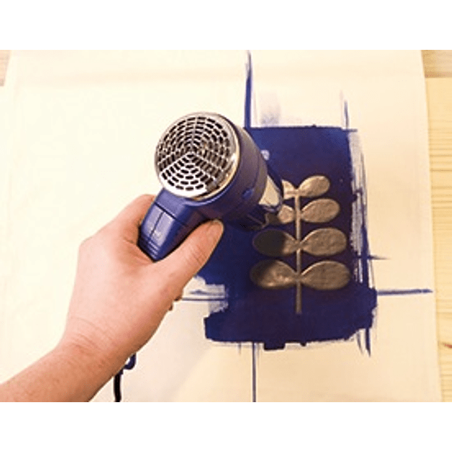 Set de pintura en tela para efectos de blanqueo