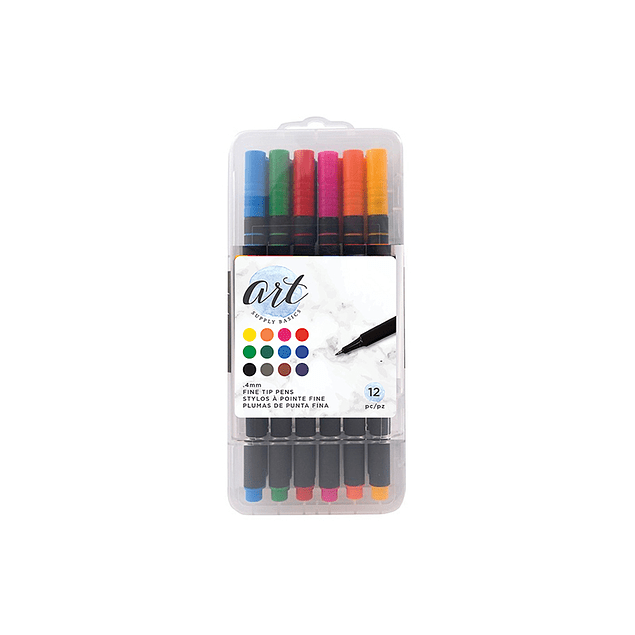 Art Supply Basics Collection - Pens - Fine Tip