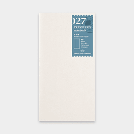 TRAVELER Notebook Refill Watercolor Paper 027