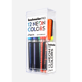 BrushmarkerPRO |12 NEON Colors Set