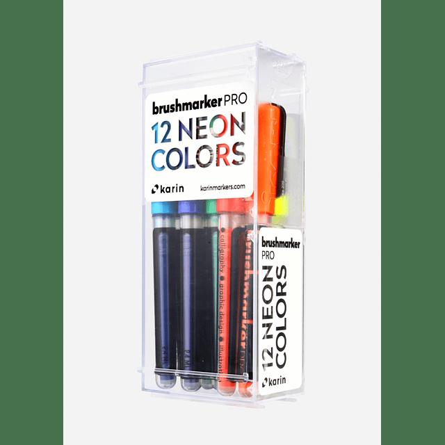 BrushmarkerPRO | 12 NEON Colors Set