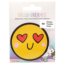 Sticky Notes Emoji - Hello Dreamer