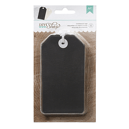 SHOP TAGS CHALKBOARD