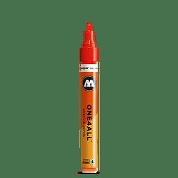 218 neon orange fluor  - 4 mm