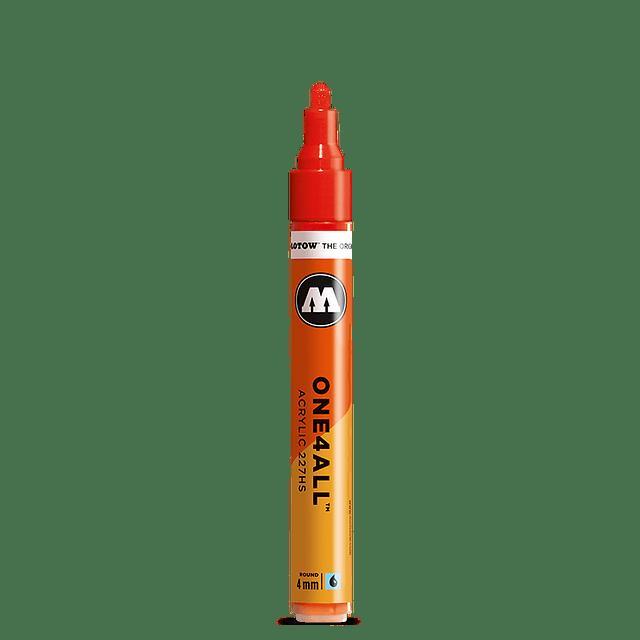 219 neon green fluor  - 4 mm