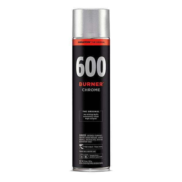 BURNER™ 600ml - Chrome