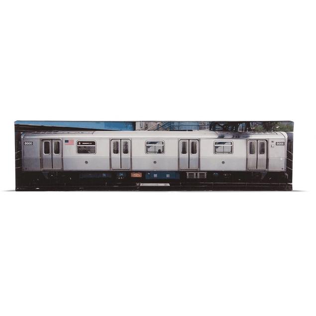 Poster en relieve Molotow N.Y.C Train