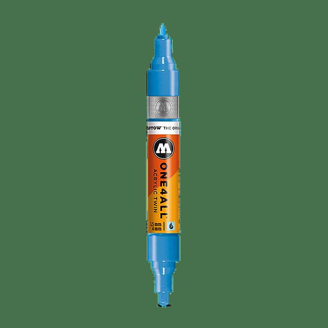 #218 neon orange fluorescent  - 1.5mm - 4mm