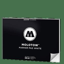 Molotow Marker Pad A4 Apaisado (29,7 x 21 cm)