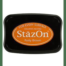 StazOn Rusty Brown