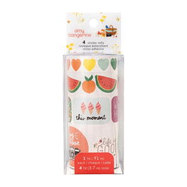 American Crafts Amy Tan, Picnic In The Park - Sticker Rolls