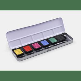 6 colores nacarados