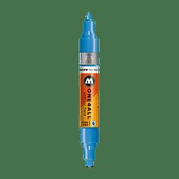 #230 shock blue  - 1.5mm - 4mm