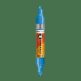 #161 shock blue middle  - 1.5mm - 4mm