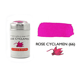 Cilindro con 6 cartuchos de tinta rose cyclamen