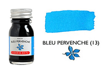 Tinta caligráfica, frasco de 10 ml. bleu pervenche