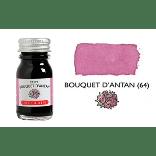 Tinta caligráfica, frasco de 10 ml. bouquet d´antan