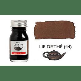 Tinta caligráfica, frasco de 10 ml. lie de thé