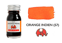 Tinta caligráfica, frasco de 10 ml. orange indien
