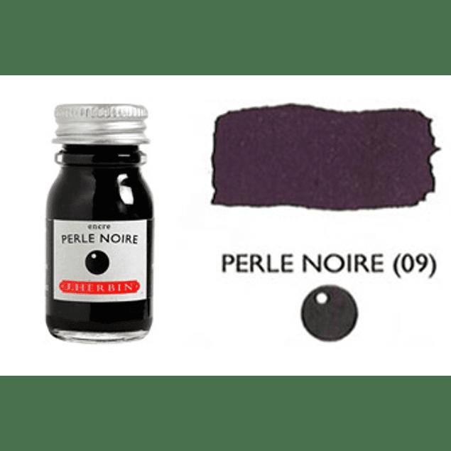 Tinta caligráfica, frasco de 10 ml. perle noire