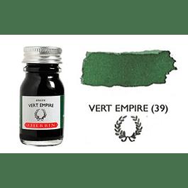 Tinta caligráfica, frasco de 10 ml. vert empire