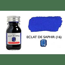 Tinta caligráfica, frasco de 10 ml. éclat de saphir