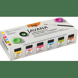Pintura translúcida para tela - Set 6 colores tendencia - 20 ml