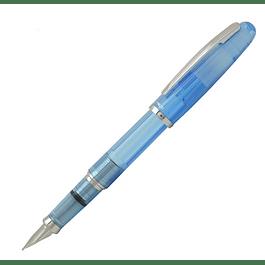 Platinum Balance Fountain Pen - F - Crystal Blue