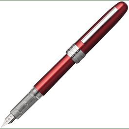 Platinum Plaisir Fountain Pen - Red F