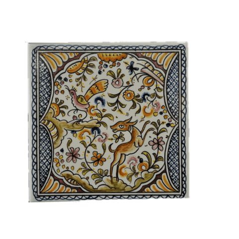 Coimbra style tile in color