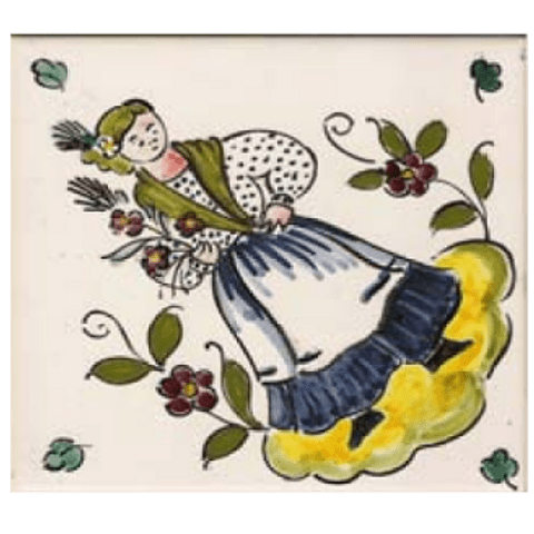 Traditional costumes individual tile 4 ANB