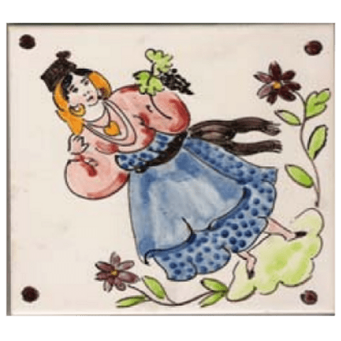 Traditional costumes individual tile 5 ANB