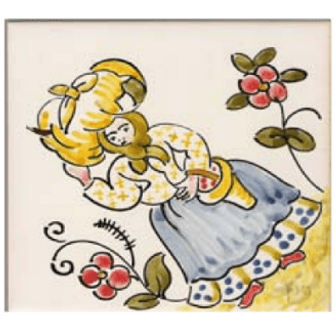 Traditional costumes individual tile 6 ANB