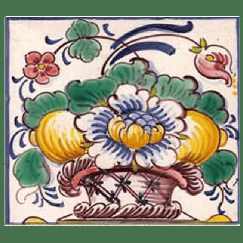 Flower basket #13 - Color - ANB