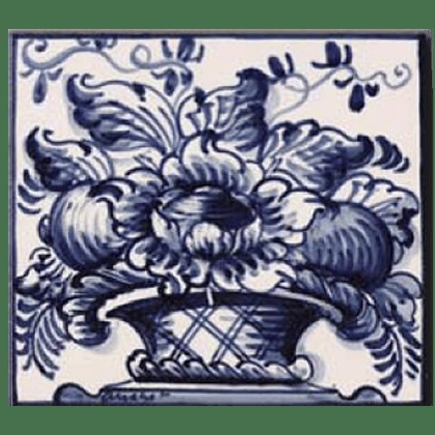 Flower basket #2 - Blue - ANB